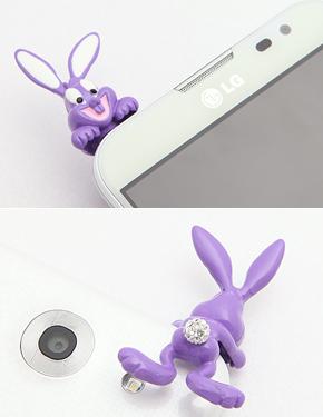 """Dancing Rabbit <font color=""""#ffffff"""">ear caps</font> (PA055) [6Color]"""