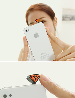 """<font color=""""#ffffff"""">Ear caps</font> superman (PA037) [3Color]"""
