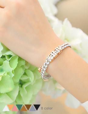 """<font color=""""#ffffff"""">bracelet</font> of Roman Holiday (15B014) [8color]"""