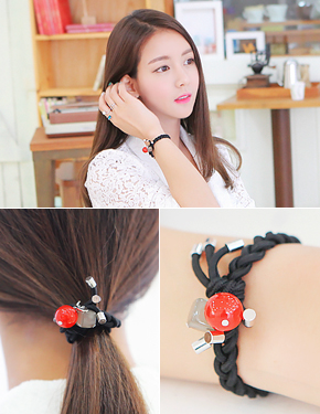 "<font color=""#ffffff"">Hair strap, bracelet, renakeuriseu</font> candy kiss (15H158) [6color]"