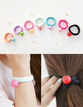 "<font color=""#ffffff"">That rengdeu Beaute, hair strap, bracelets</font> Take Care of ah summer (15H169) [8Color]"