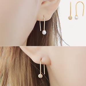 "Diane big <font color=""#ffffff"">earrings</font> (16E567) [3Color]"
