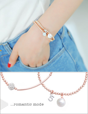 "<font color=""#ffffff"">Bracelet</font> shining today (15B082) [2Type, 2Color]"