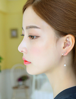 "Jess <font color=""#ffffff"">earring</font> (15E284) [3Color]"