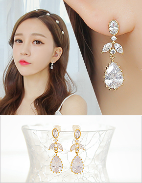 "<font color=""#ffffff"">Earrings</font> in me you (16E619) [3Color]"