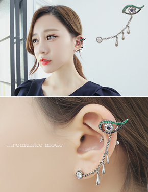 "<font color=""#ffffff"">Ear cuff</font> Demi soda earcuff (16C021) [1color]"