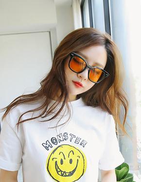 """Three <font color=""""#ffffff"""">sunglasses</font> tion (16G028) [7color]"""