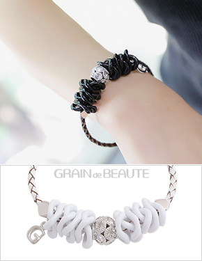"<font color=""#ffffff"">That raengdeu Beaute, bracelets</font> good feeling (15B069) [2Color]"