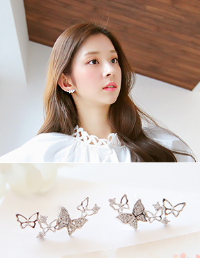 "<font color=""#ffffff"">Earrings</font> Melo Asia (15E094) [3Color]"