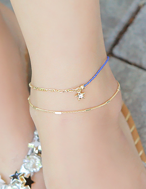 "Put the <font color=""#ffffff"">anklet</font> stars (15B071) [2color]"