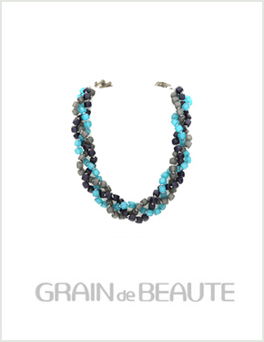 "<font color=""#ffffff"">That raengdeu Beaute, Necklace [Grain de Beaute] GN004</font> (AZW031) [5Color]"