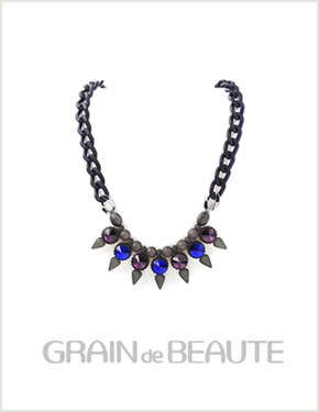 "<font color=""#ffffff"">That raengdeu Beaute, Necklace [Grain de Beaute] GN013</font> (AZW021) [3Color]"
