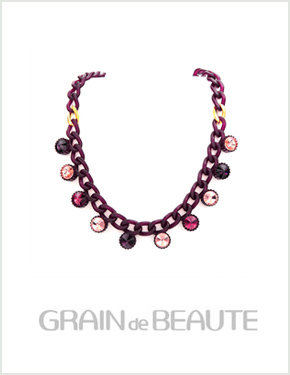 "<font color=""#ffffff"">That raengdeu Beaute, Necklace [Grain de Beaute] GN017</font> (AZW019) [5Color]"