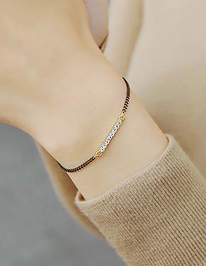 """Rear one <font color=""""#ffffff"""">bracelet</font> bracelet (17B484) [2color]"""