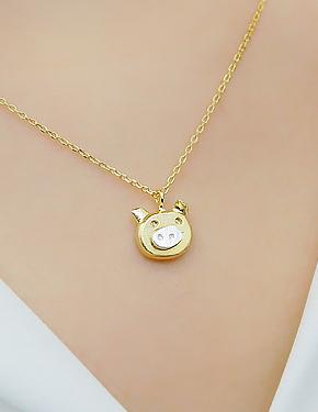 """Pygmy <font color=""""#ffffff"""">necklace</font> necklace (17N468) [2color]"""