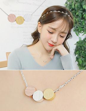 "Neeo <font color=""#ffffff"">necklace</font> (17N469) [2color]"